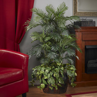 Faux Areca Indoor Plant for Traditional Family Room