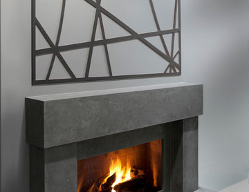 Feature Mould - Charcoal gray 3D Moulding in San Francisco