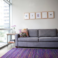 contemporary family room by Feizy Rugs