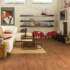 Contemporary Family Room by Tarkett Residential (N. America)