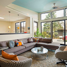 Contemporary Family Room by Pohl Rosa Pohl