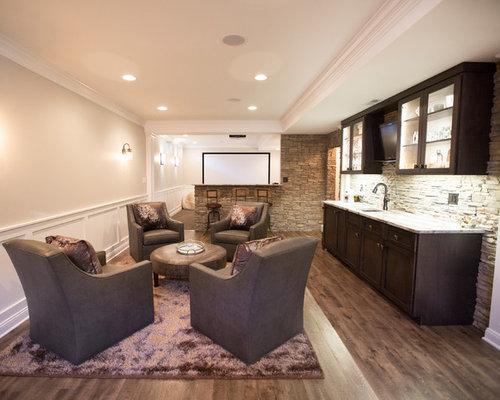 Wohnzimmer mit vinylboden ideen design bilder houzz - Vinylboden wohnzimmer ...