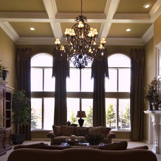 Traditional Family Room by Finishing Touches Interiors By Design, Inc.