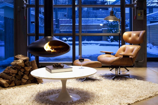 Contemporary Family Room by dSPACE Studio Ltd, AIA