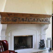 Traditional Family Room by Byrne Custom Woodworking Inc
