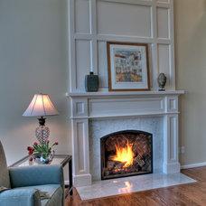 Traditional Family Room by Sadro Design Studio Inc.
