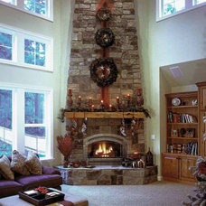 Family Room fireplace family roon