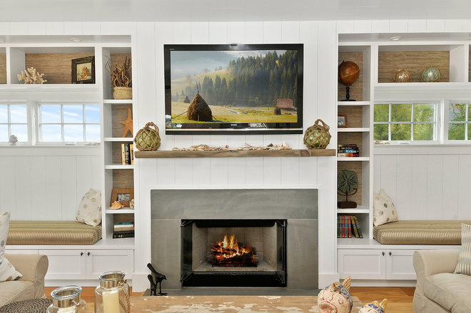Beach Style Family Room by Forst Construction, Inc.