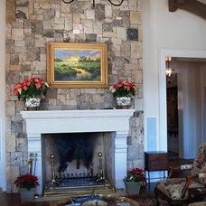 Traditional Family Room by Kemp Hall Studio