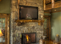 Swooning over this fireplace! Can you tell me about the hearth?