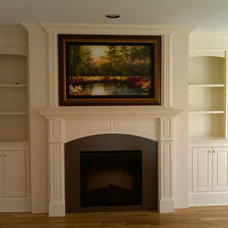 traditional family room by Long Island Mantel/Island ArtScreen