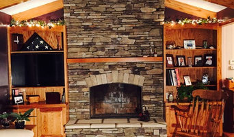 Fireplace Remodel in Bay Village Family Room