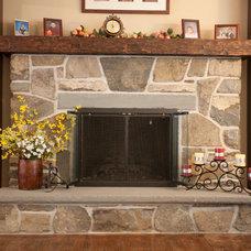 Traditional Family Room by Thomas Flint Landscape Design & Development