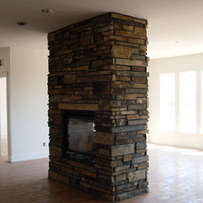 Family Room fireplace2