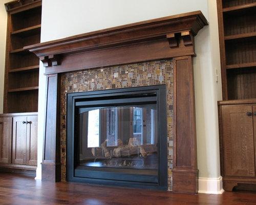 Craftsman Fireplace   Houzz