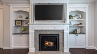 Fireplaces and Media Cabinetry