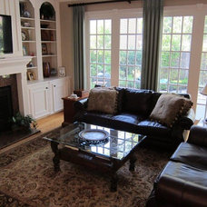 Traditional Family Room by Beverly Vosko Interiors and Remodeling
