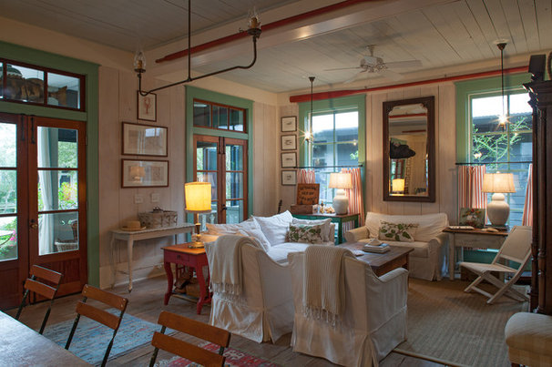 Beach Style Family Room by Historical Concepts