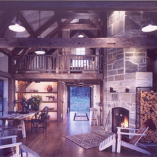 Traditional Family Room by OSM Wyoming, Inc.
