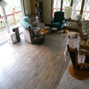 Mannington Historic Oak Clear All Family Room Idea In Other