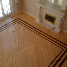Traditional Family Room by RHODES HARDWOOD FLOORING