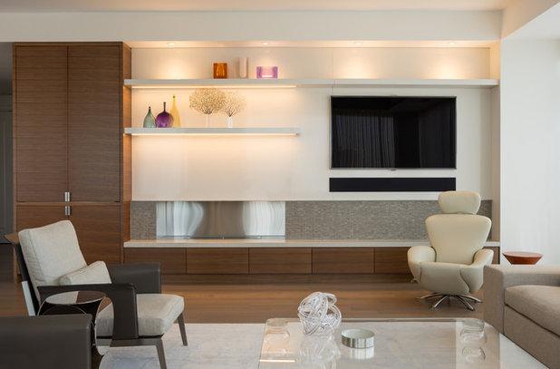 16 Idee per Migliorare l'Illuminazione della Zona Tv