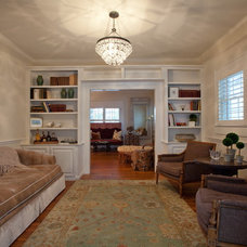 Traditional Family Room by Clifford M. Scholz Architects Inc.