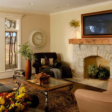 Traditional Family Room by Orren Pickell Building Group