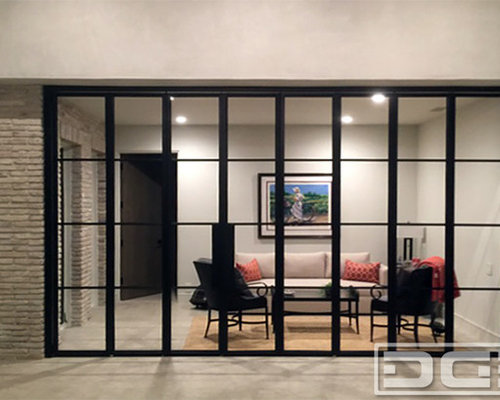 Panoramic Accordion Patio Doors in a Bronze Metal Frame & Insulated Glass  Panes! - Panoramic Accordion Patio Doors In A Bronze Metal Frame
