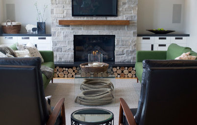 Room of the Day: A New Family Room's Natural Connection