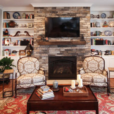 Traditional Family Room by Toulmin Homes