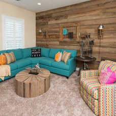 Contemporary Family Room by Dostie Homes