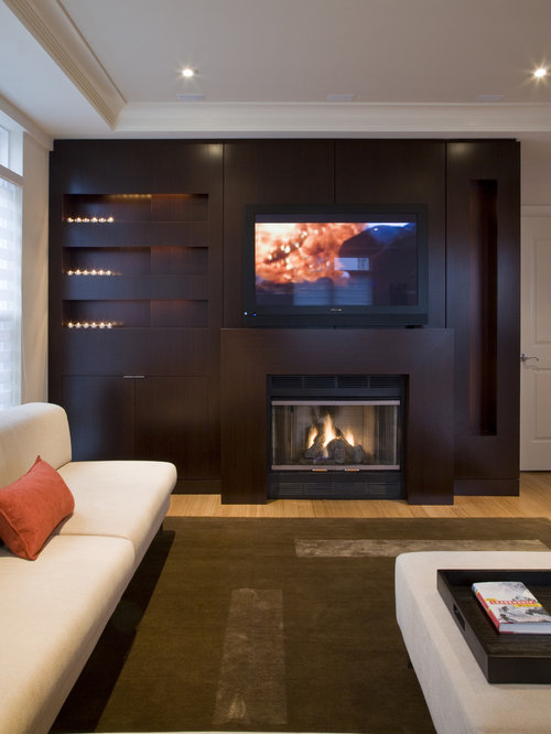 Tv Stand Fireplace Home Design Ideas, Pictures, Remodel and Decor