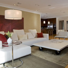 Contemporary Family Room by FORMA Design