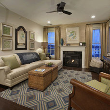 Traditional Family Room by Gacek Design Group, Inc.