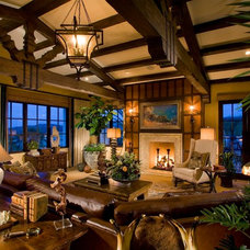 Family Room by frank pitman designs