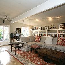 Eclectic Family Room Frantic Transatlantic