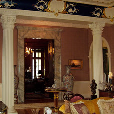Traditional Family Room by Chadsworth Columns