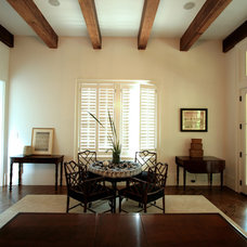 Tropical Family Room by 708 Studios, LLC