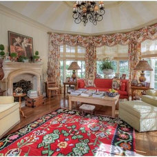 Traditional Family Room by Kenneth Davis Lux International