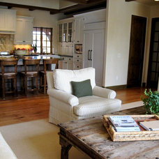 Traditional Family Room by Jenni Leasia Design