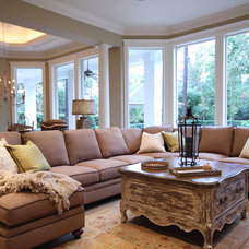Traditional Family Room by Pamela Hope Designs