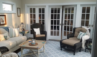 French Door Family Room