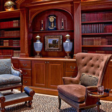 Traditional Family Room by Wilson Kelsey Design