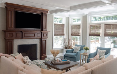 Room of the Day: Adding Comfort and Style to a New Jersey Family Room