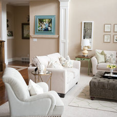Traditional Family Room by Sita Montgomery Interiors