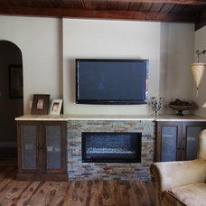 Traditional Family Room by Kitchens of Diablo