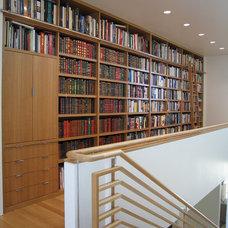 Modern Hall by Santori Woodworking
