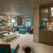 Traditional Family Room by Fuller Interiors
