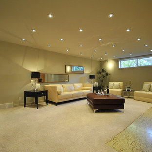 Fully Finished Basement Family Room in Totally Renovated 2-Story in Edmonton